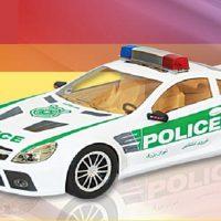 ماشین اسباب بازی مدل بنز پلیس ال اس
