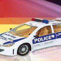 ماشین اسباب بازی مدل 206 پلیس