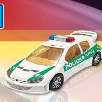 اسباب بازی ماشین پژو 206 پلیس صندلی دار