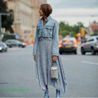 لباس جین دخترانه