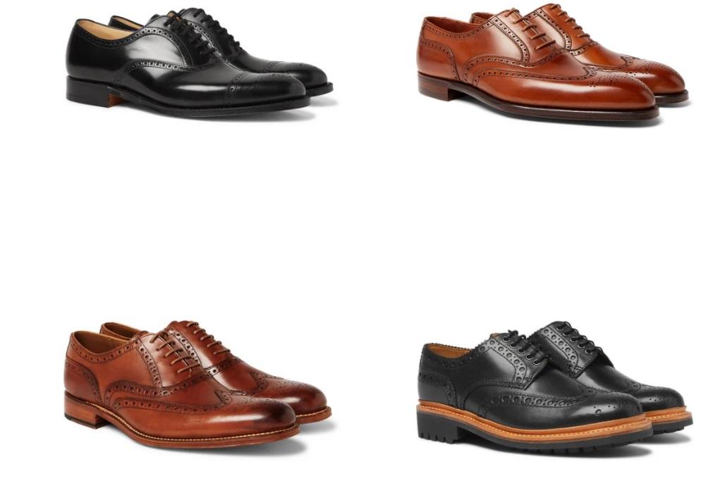 کفش بروگ مردانه