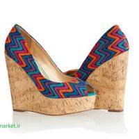 کفش گوه ای زنانه شیک