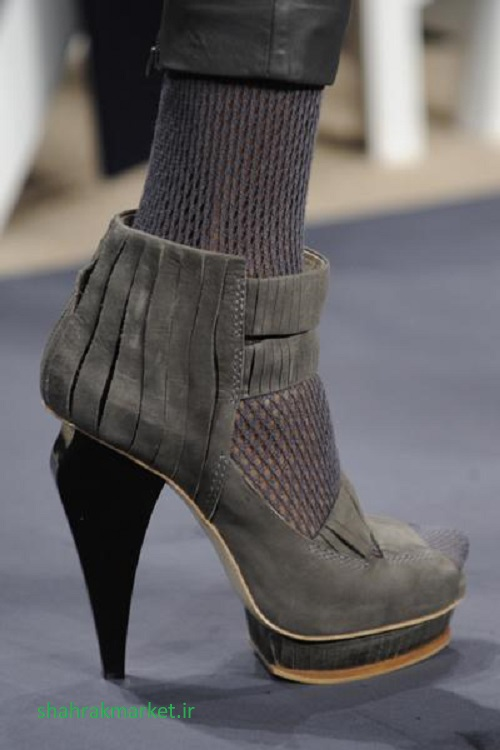 کفش پاشنه بلند پلتفرم زنانه