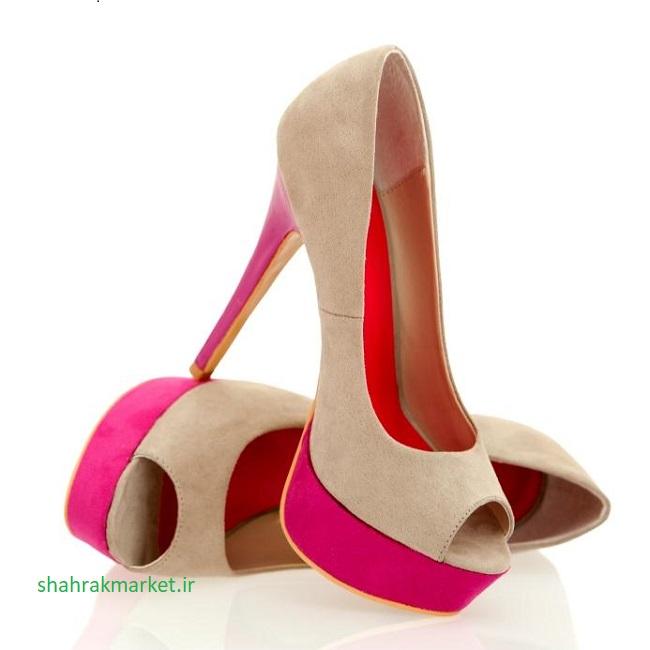 کفش پلتفرم روباز زنانه